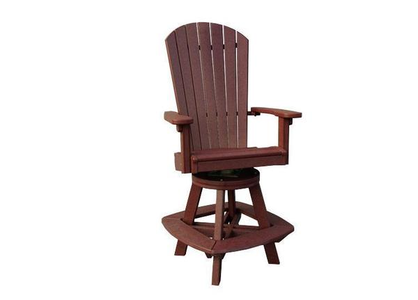 Finch Great Bay Poly Swivel Bar Chair