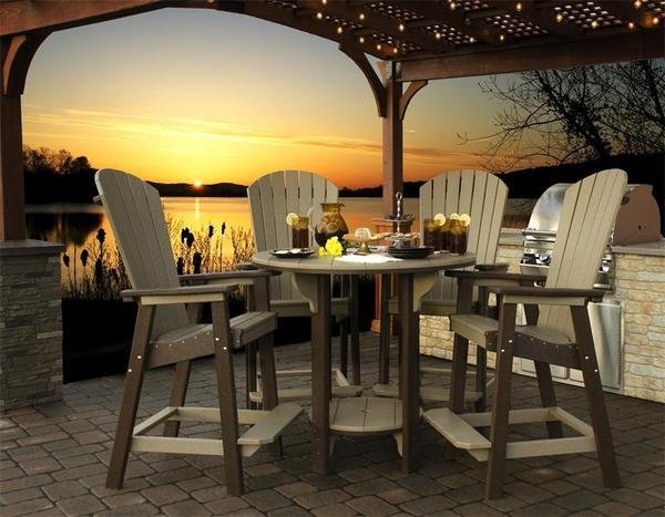Finch Great Bay Poly Bar Chair
