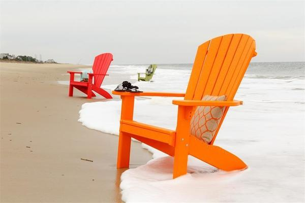 Finch Poly SeaAira Adirondack Chair