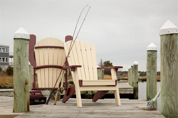Finch Poly SeaAira Folding Adirondack Chair