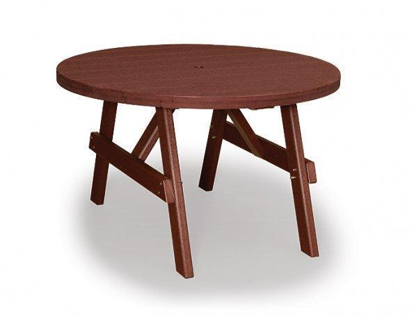 """Finch Poly 48"""" Round Garden Dining Table"""