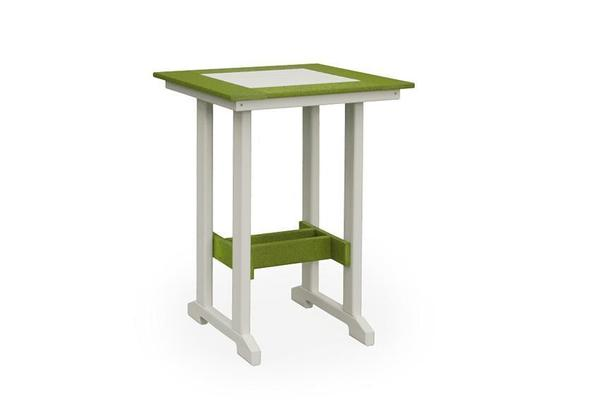 Finch Poly Square Bar Table