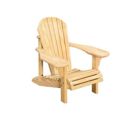 Amish Pine Wood Child's Adirondack Chair