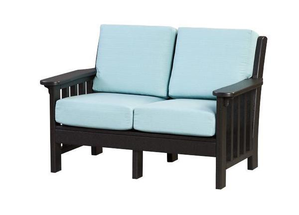Finch Poly Mission Love Seat