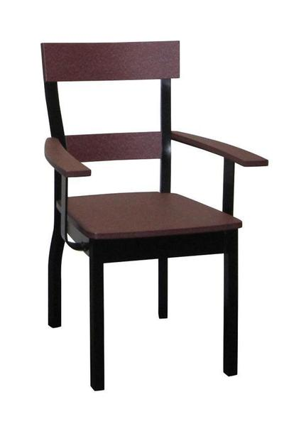 Amish Bridgeport Poly Arm Chair