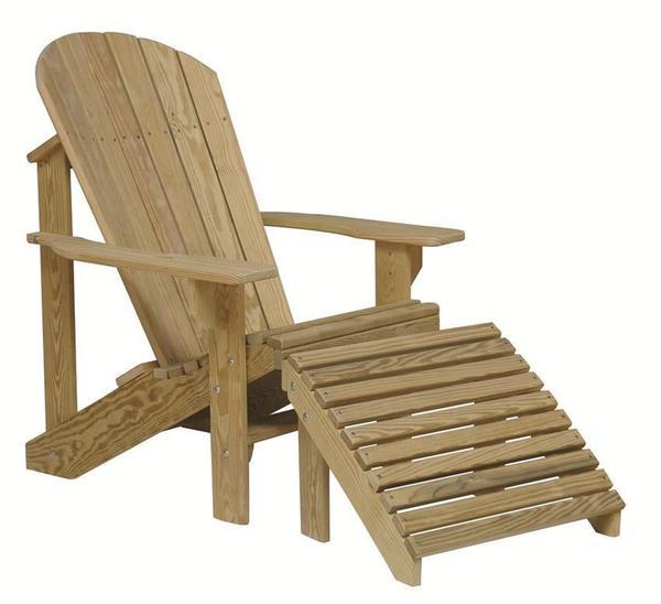 Pine Amish Adirondack Chair