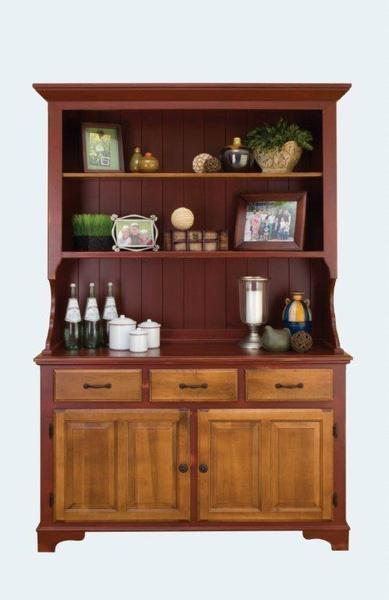 Amish Lancaster Farmhouse Buffet with Hutch