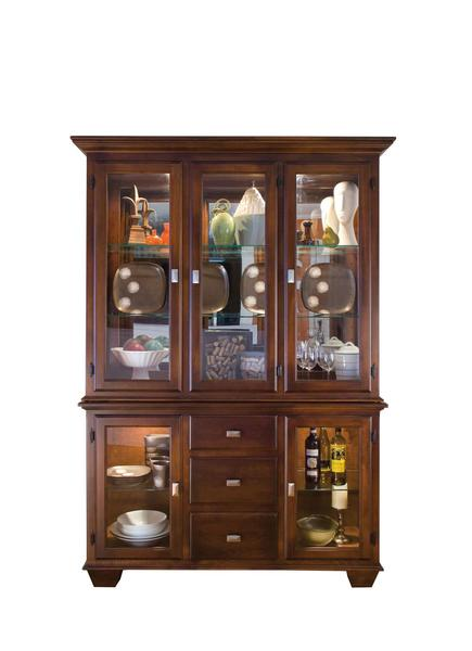 Amish Hampton China Hutch