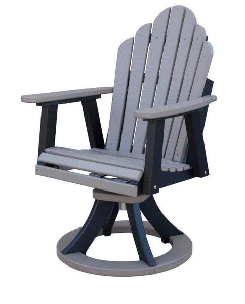 Berlin Gardens Cozi-Back Poly Swivel Rocker Dining Chair