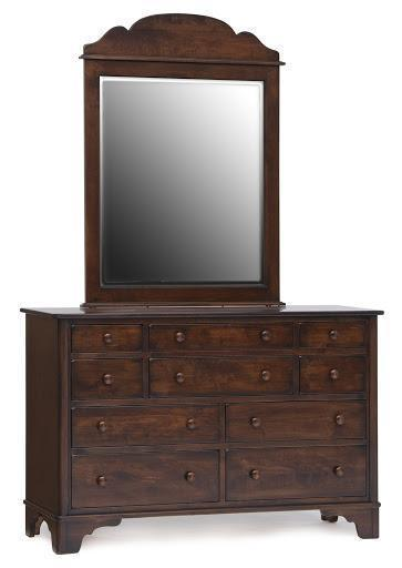Amish Yorktowne Bedroom Double Dresser