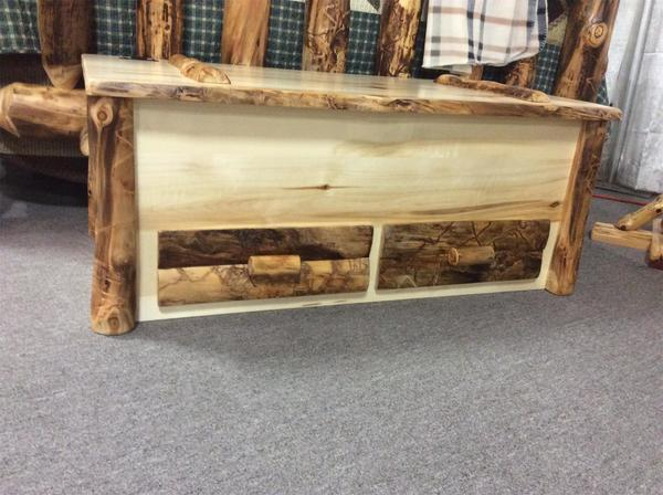 Rustic Log Chest From Dutchcrafters