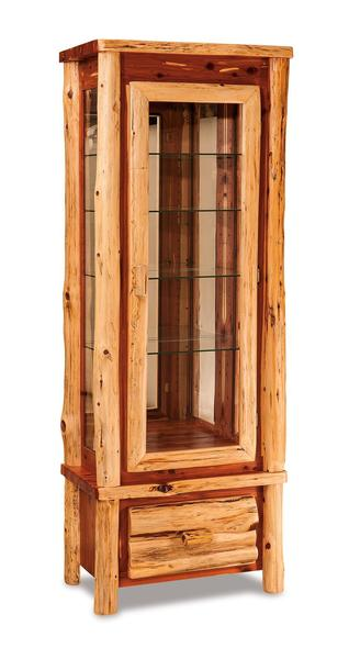 Amish Country Lodge Curio Cabinet