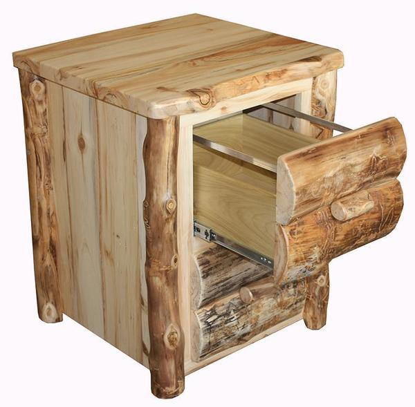 Amish Rustic File Cabinet