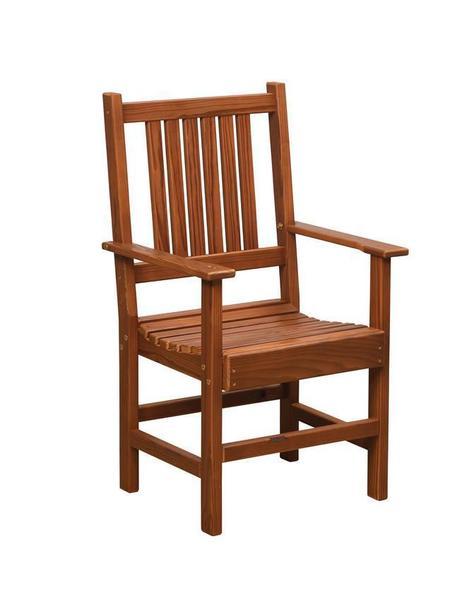 Amish Cedar Wood Outdoor Arm Chair