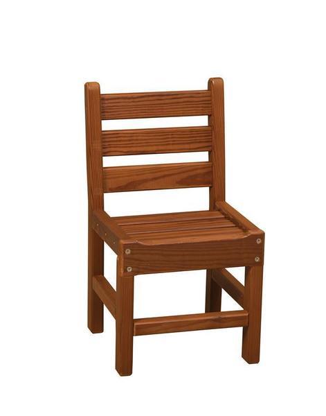 Amish Cedar Wood Outdoor Kid's Chair