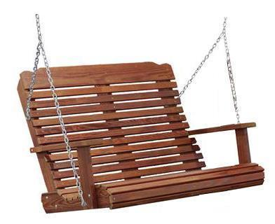 Amish Cedar Porch Swing