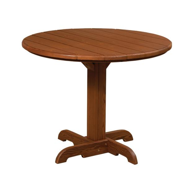 Amish Cedar Wood Outdoor Round Table