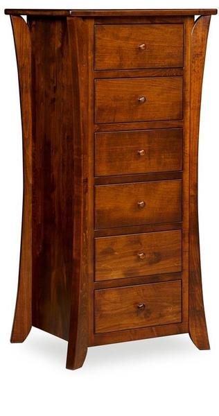 Amish Caledonia Shaker Six Drawer Lingerie Chest