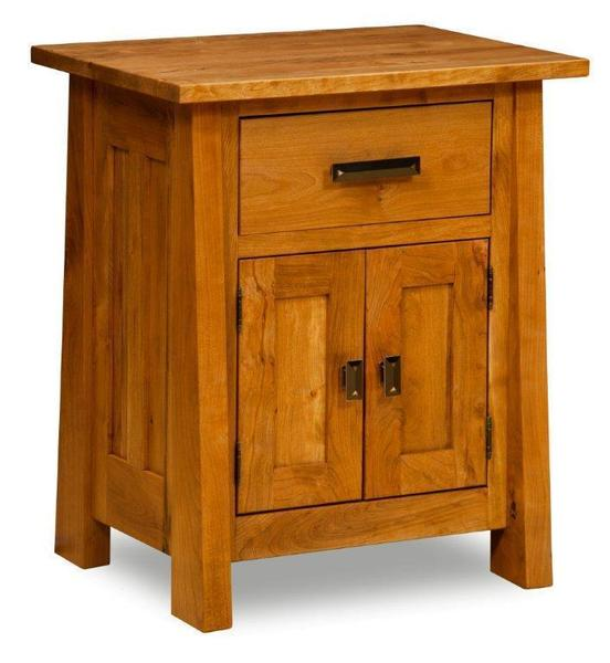 Amish Freemont Mission Nightstand with One Drawer