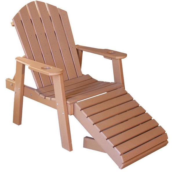 Amish Classic Poly Chaise Lounge Chair