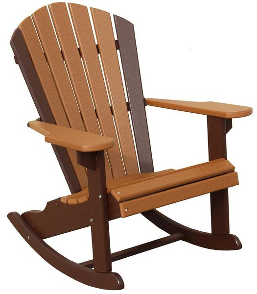 Amish Seaside 22 Inch Poly Composite Beach Rocker Chair