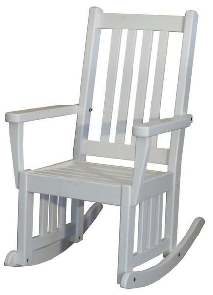 Amish Seaside 18 Inch Poly Composite Mission Rocker Chair