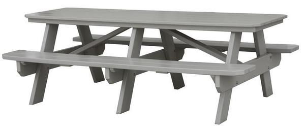 Amish Seaside 7 Foot Poly Composite Picnic Table
