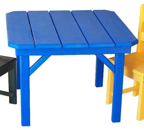 Amish Seaside Child's Poly Composite Square Table
