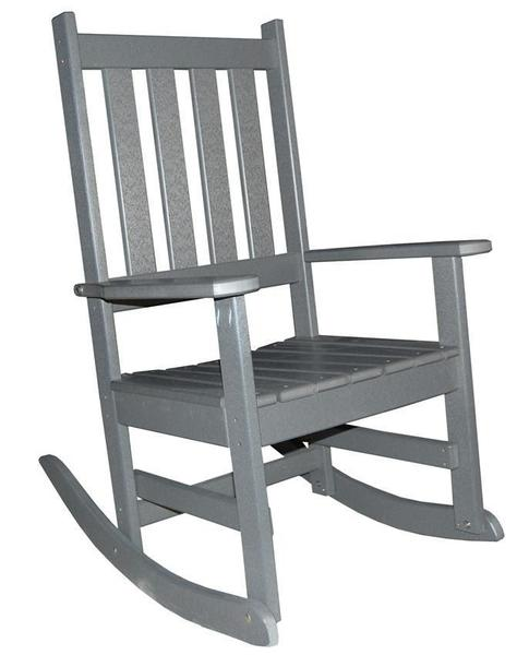 Amish Seaside Poly Composite Porch Rocker Chair