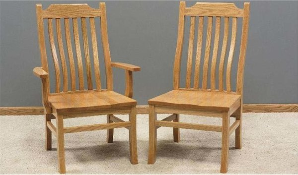 Amish Made Mission Dining Room Chair