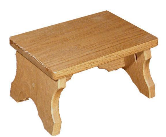 Amish Oak Wood Small Bench