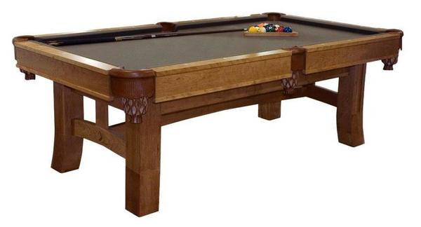 Amish Handcrafted Shaker Hill Pool Table