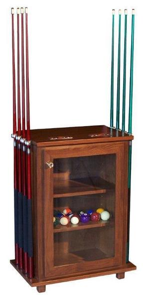 Amish Billiard Table Accessories Cabinet
