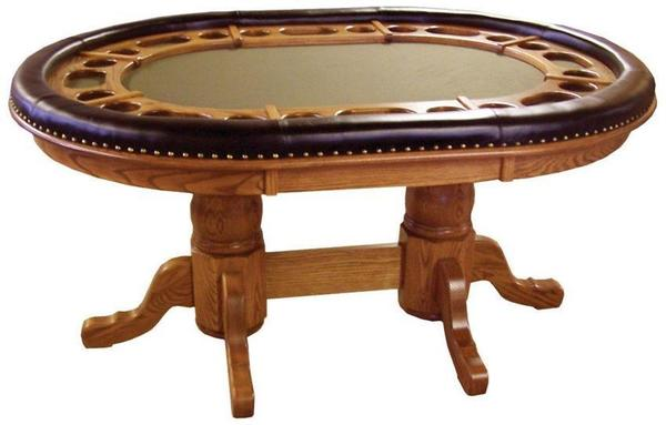 Amish Handcrafted Dakota Game Table