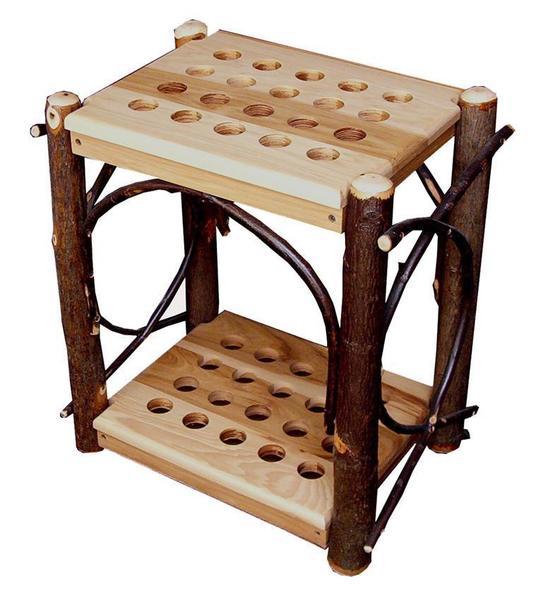 Amish Cane Display Rack