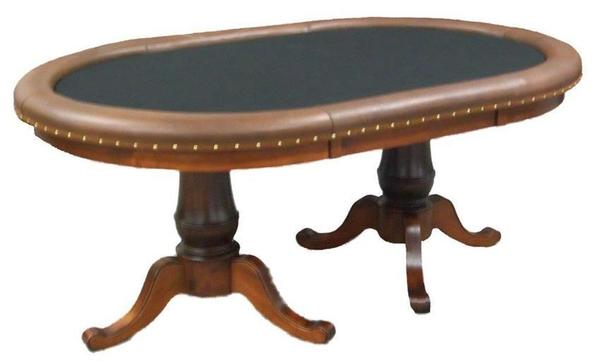 Amish Hardwood Chacelerville Game Poker Table