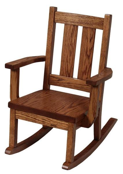 Amish Aspen Delta Kids' Rocking Chair