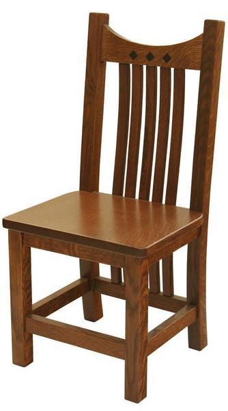 Amish Hardwood Child's Royal Mission Chair