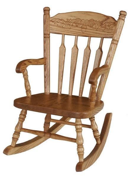Amish Morgantown Legacy Kids' Rocking Chair