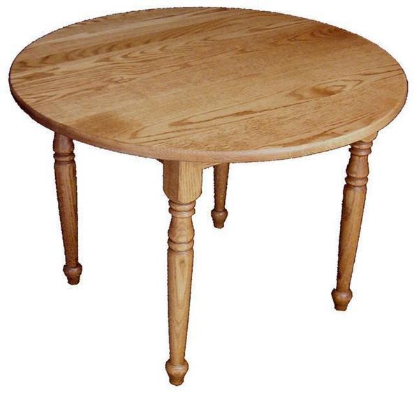 Amish Hardwood Child's Round Table