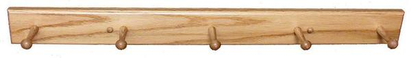 Amish Oak Wood Coat Hanger