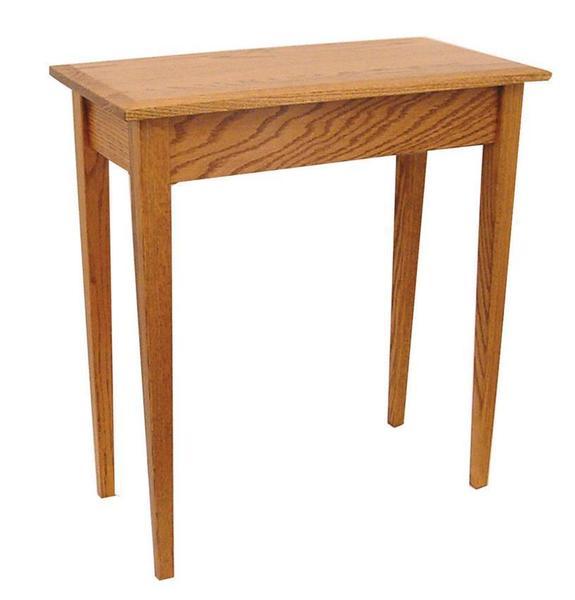 Amish Hardwood Shaker Console Table