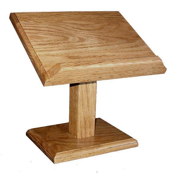 Amish Hardwood Small Cookbook Stand or Bible Stand