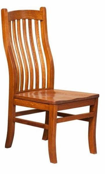 Amish Mission Arts and Crafts Dining Chair