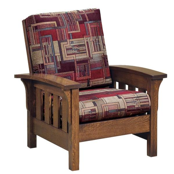 American Bow Arm Lounge Chair