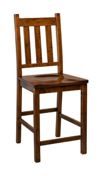 Amish Denver Mission Bar Stool