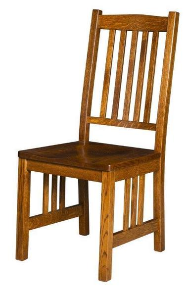 Amish Marbarry Mission Dining Chair