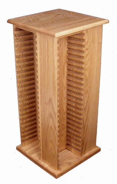Amish Hardwood Large DVD Tower