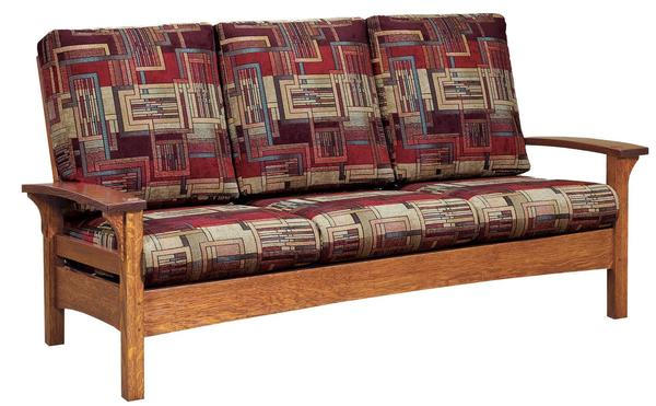 Amish Durango Mission Sofa