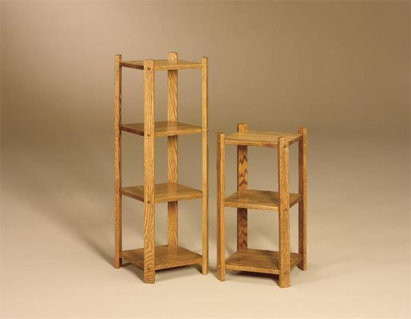 Amish Small Bookcase Stand